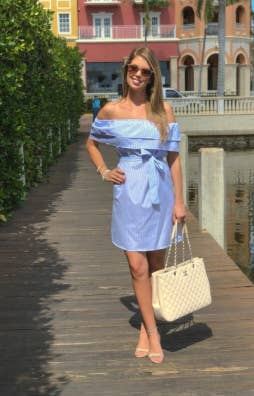 02d3c75f18a A dress with crisp lines and playful ruffles that ll make a great  impression when your significant other takes you to meet their parents for  the first time.