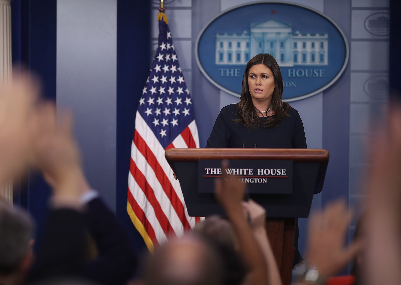 Sarah Sanders Told Mueller's Team Her Comments About Why James Comey Was Fired Weren't Based On Anything
