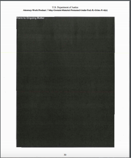 Here's How Much Of The Mueller Report Was Redacted