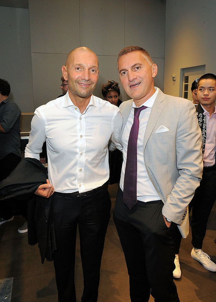 Giorgi Rtskhiladze (right) with Silk Road Group founder George Ramishvili in New York.