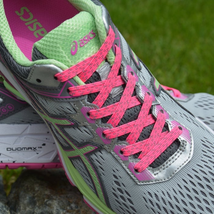 """Promising review:""""I knew I was going to love these for casual everyday wear, but I never anticipated actually being able to use them in my running shoes. I like my laces tight for running and I just didn't think these would be able to stay put. I was wrong! I ran five miles and the laces were just as tight upon completion as they were when I started! I plan on replacing all my laces with these."""" —AA2017Get them from Amazon for $9.99(available in a 43 colors)"""