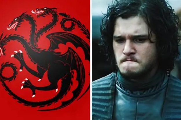 """Only A True """"Game Of Thrones"""" Fan Can Name 14/16 House Sigils"""
