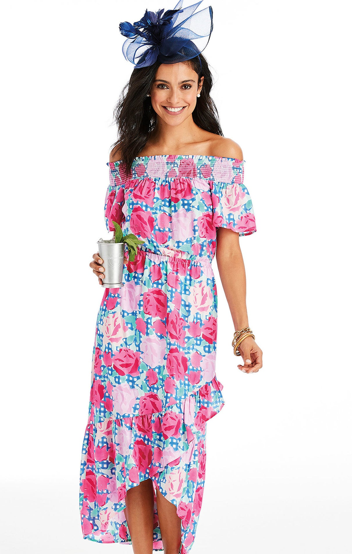 Thirty percent of sales from a number of accessories from Vineyard Vine's Kentucky Derby collection go to the Norton Cancer Institute through Derby Divas, an organization that helps to fund mammograms for underserved women. Check 'em all out here!Get it from Vineyard Vines for $188 (available in sizes 00–16).