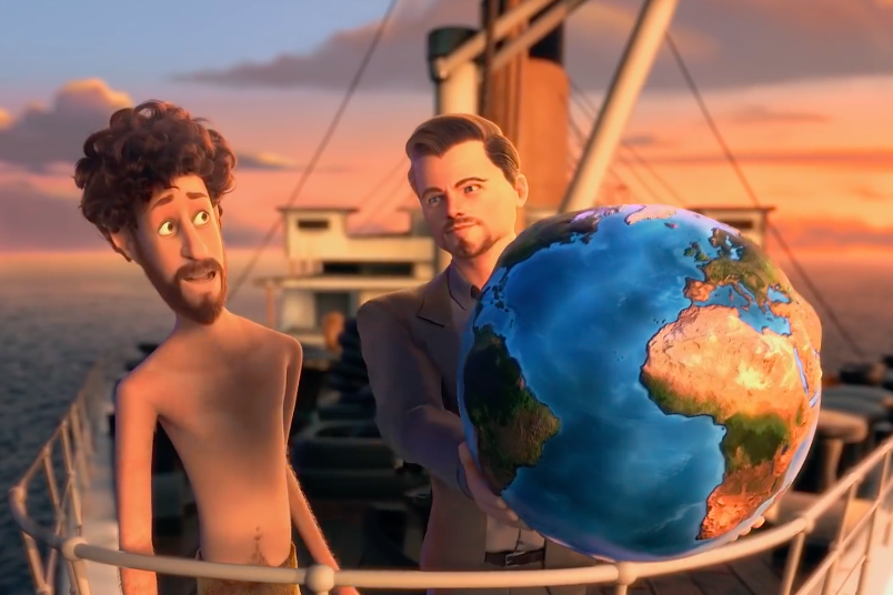 """Leonardo DiCaprio Is Also In Lil Dicky's """"Earth"""" Video And It's Amazing"""