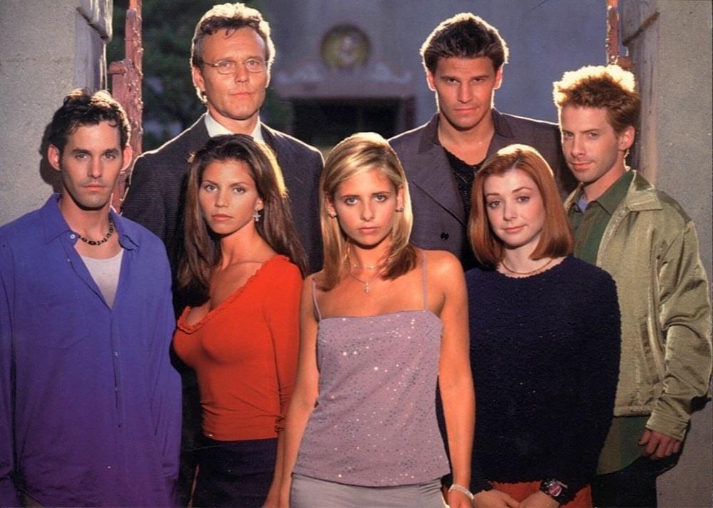 Buffy Cast photo from second season