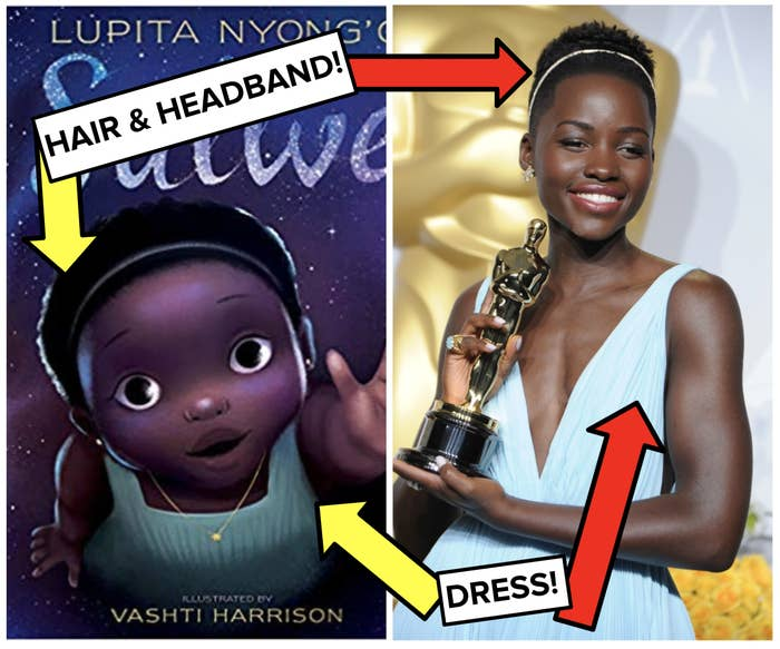 """BTW, Sulwe means """"star"""" in Luo, Lupita's native Kenyan language. *CRIES FOREVER*"""