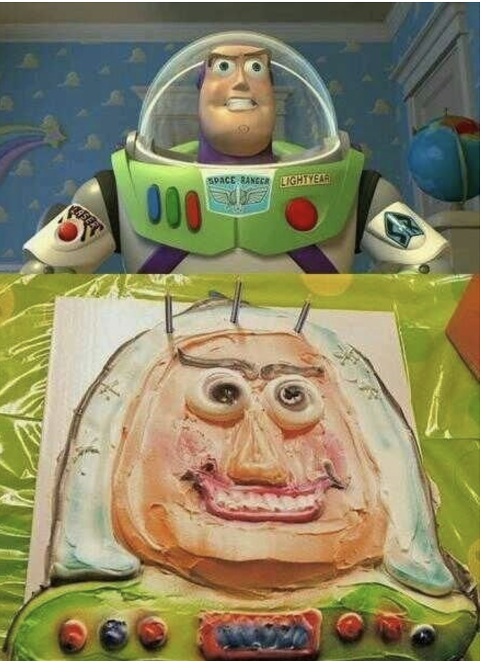 This ain't going anywhere near infinity and beyond, let me tell you.