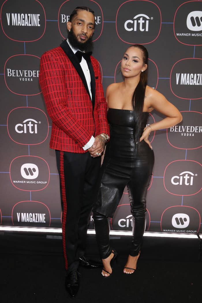 Lauren London Paid Tribute To Rapper Nipsey Hussle, Her Late