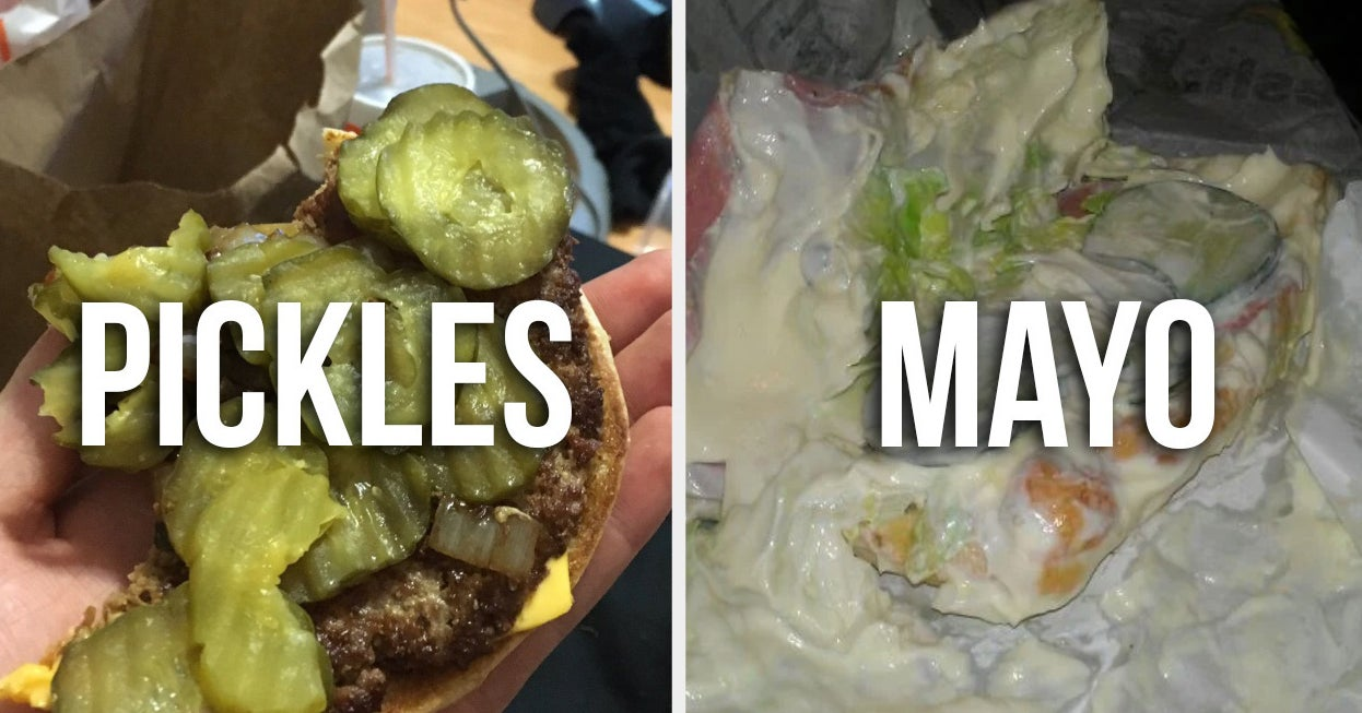 Let Us Guess Exactly Which Food You Refuse To Put In Your