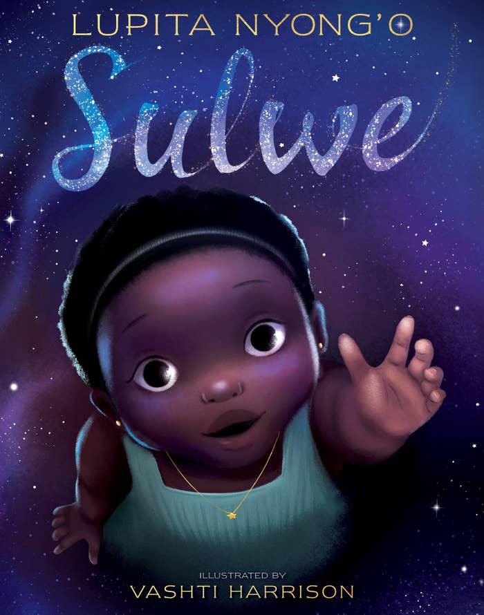 """Here's the book's empowering plot, as seen on Amazon: """"Sulwe has skin the color of midnight. She is darker than everyone in her family. She is darker than anyone in her school. Sulwe just wants to be beautiful and bright, like her mother and sister. Then a magical journey in the night sky opens her eyes and changes everything. In this stunning debut picture book, actress Lupita Nyong'o creates a whimsical and heartwarming story to inspire children to see their own unique beauty."""""""
