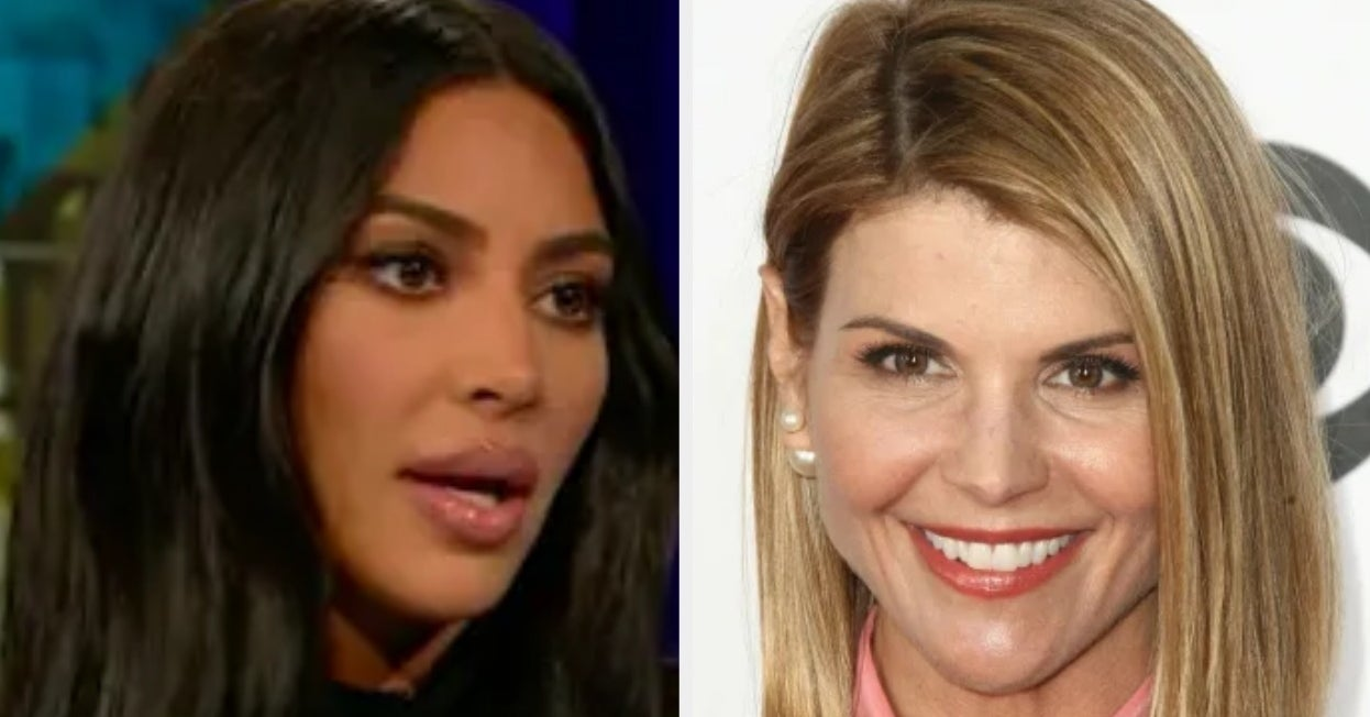 Kim Kardashian Was Asked About That College Admissions Scandal And Her Response Deserves An A+
