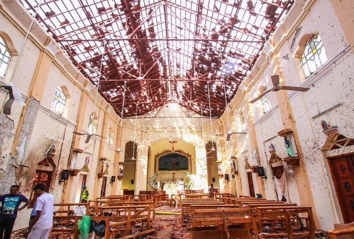 Sri Lanka Has Blocked Social Media Access For 24 Hours After Deadly