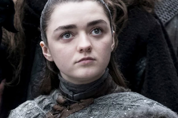 This One Arya Moment In
