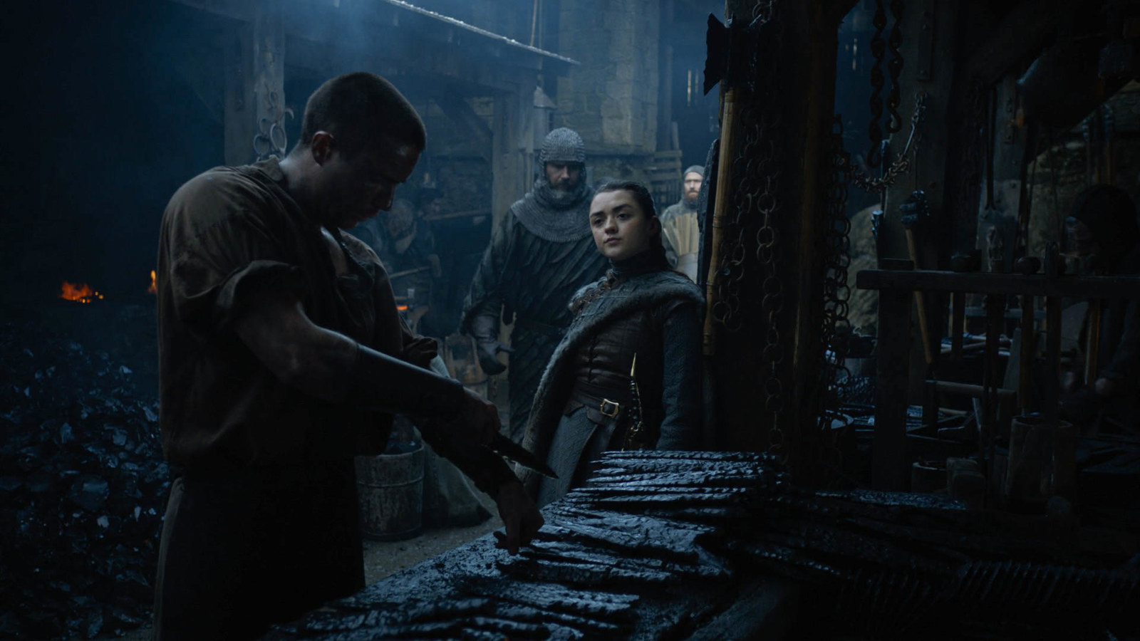 Maisie Williams Revealed What It Was Like Filming Arya's Scene With Gendry