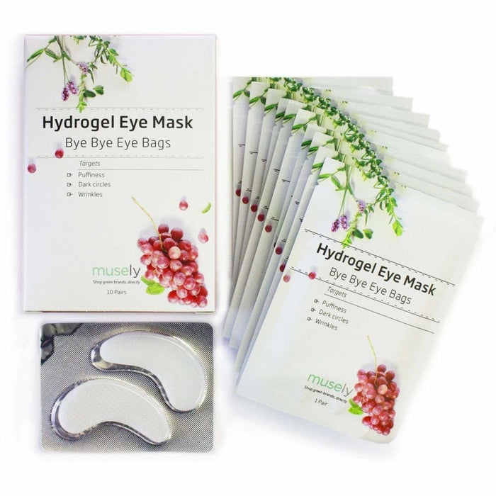 "These masks contain vitamin K, prickly pear seed oil, and grape seed oil, which promote elasticity and brightness and can reduce the appearance of fine lines. Plus they contain lavender, which will help them catch those much needed winks.Promising review: ""I've tried many, many products for under-eye puffiness and many of them just make the problem worse. Creams and gels usually creep into my eyes and irritate them, making them watery, red, and more puffy!!! I read about these eye masks and gave them a try. I just ordered my fourth box. The eye mask has a gel on the backside that is cooling and hydrating. My under-eyes look smoother! I am hooked."" —Karen HermanPrice: $44.85 for a pack of 10"