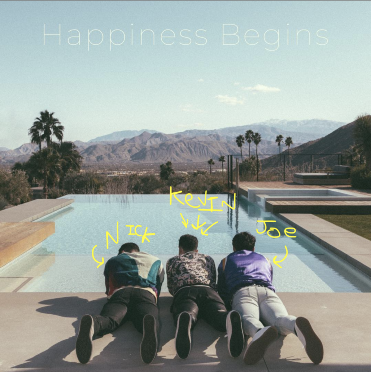 The Jonas Brothers Announced Their New Album And Kevin Jonas Is Finally In The Center Of The Photo