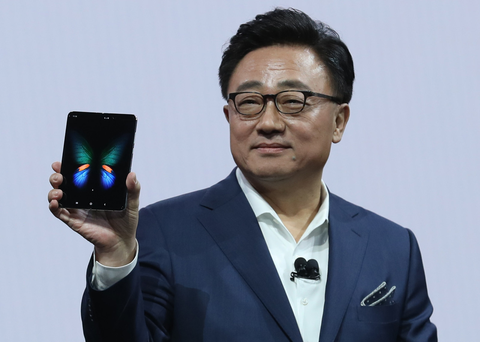 The Samsung Galaxy Fold Phone's Launch Has Been Delayed Because Of Screen Failures