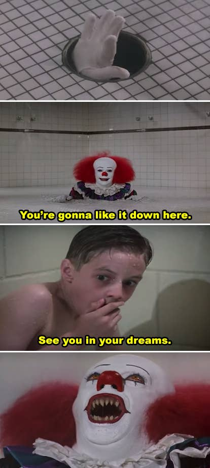 It Shower Drain Scene.Messed Up Movie Scenes That Traumatizing And Gross