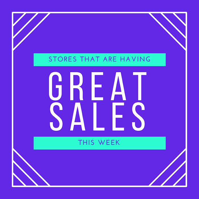 30 Stores That Are Having Great Sales This Week