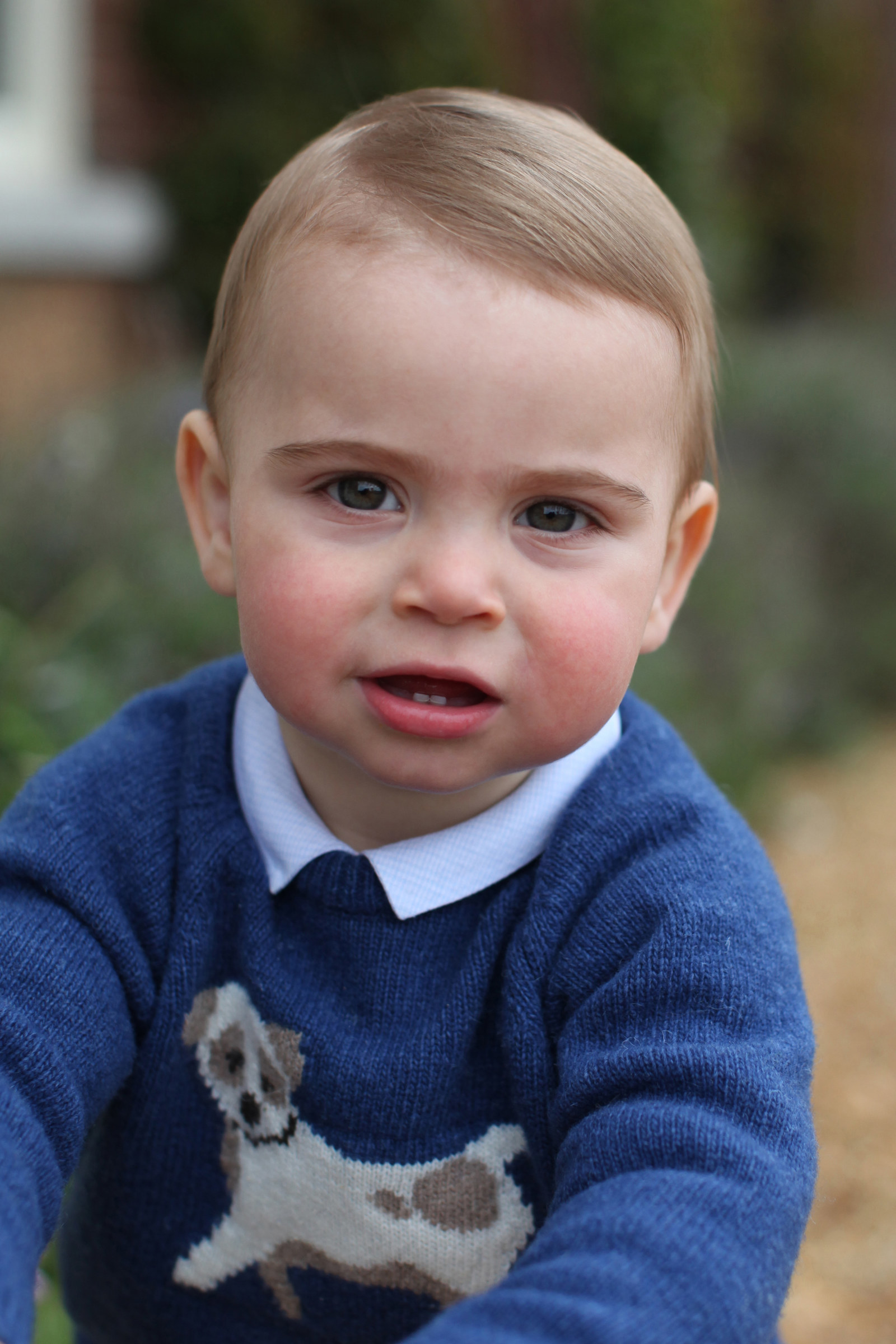 New Photos Of Prince Louis Released To Celebrate 1st Birthday