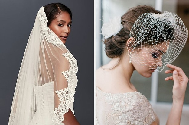 Say I Do Or I Dont To These Wedding Veils And Well Give You Your Future Spouses First Initial