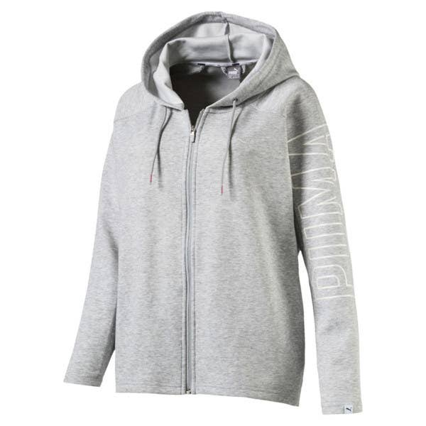 5b345db8b50c9 A full-zip hoodie to replace that old ratty one your cat has taken as its  bedding one too many times. (Let the cat have it.)