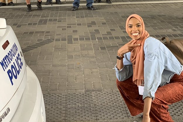 This Muslim Woman Took A Photo ...