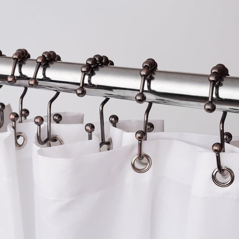 shower curtain hooks