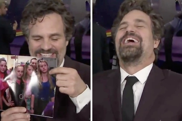 """Mark Ruffalo Finding Out That Brie Larson Was In """"13 Going On 30"""" Is Absolutely Amazing"""
