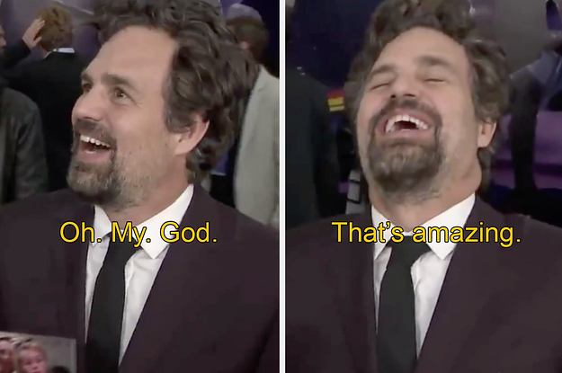 So Mark Ruffalo Just Found Out Brie ...