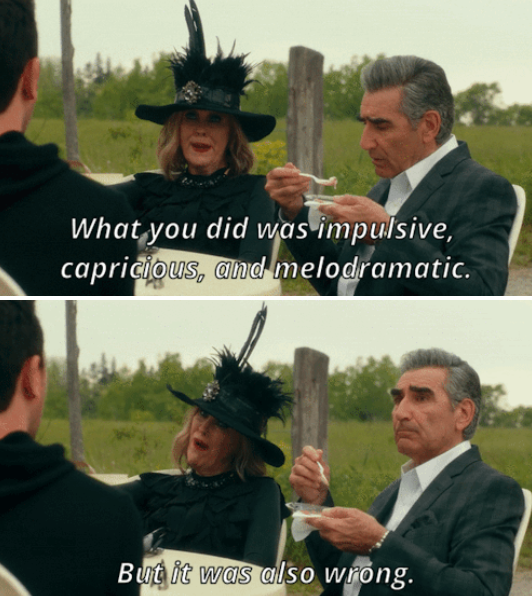 """What's The Absolute Funniest Moment From """"Schitt's Creek""""?"""