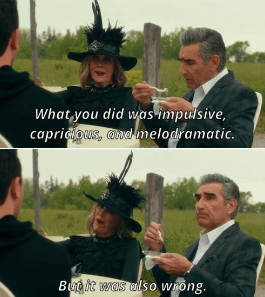 Image result for schitt's creek funny