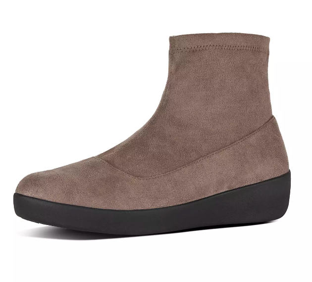 7678f600d 10. Suede booties that can make your wrinkled tee and