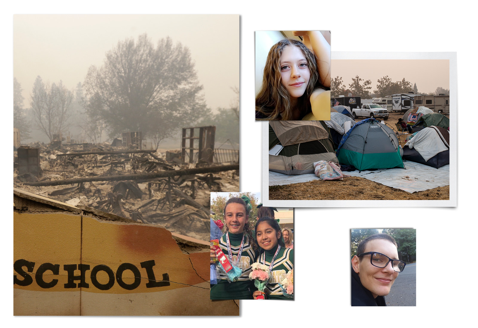 Months After The Camp Fire Destroyed Their Town, Students Are Still Grappling With The New Norm