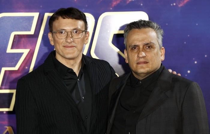 Avengers: Endgame directors Anthony Russo, left, and Joe Russo.