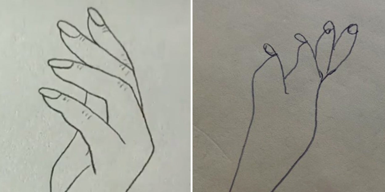 This Hand Drawing Hack Went Viral And Now People Are Feeling Very Lied To