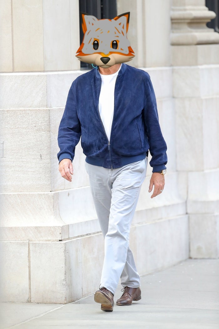 They don't have a silver fox emoji which is messed up, so I had to make do.