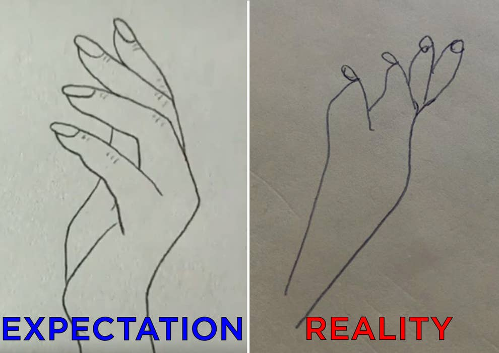 drawing game computer guesses This Hand Drawing Hack Went Viral And Now People Are Feeling