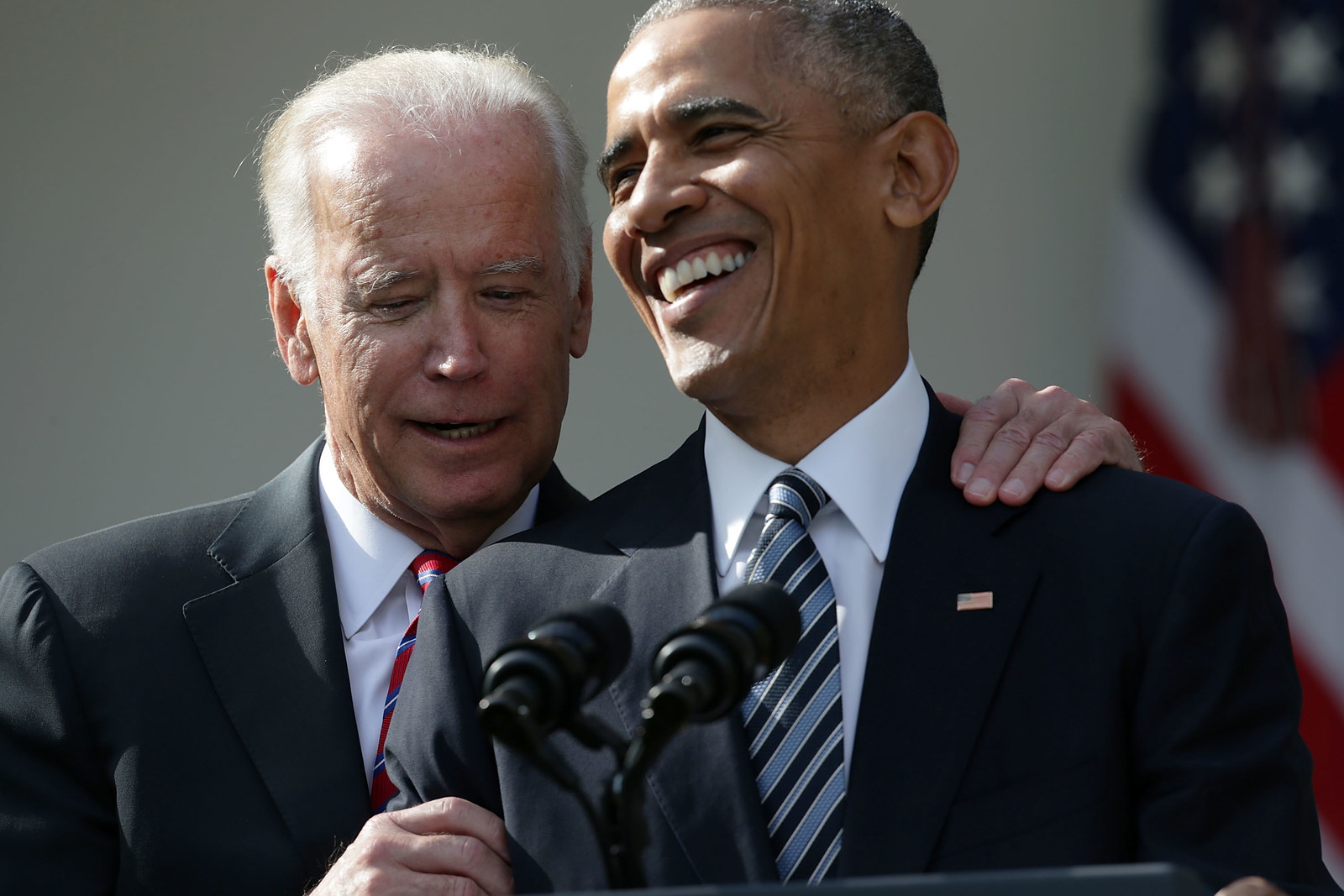 Joe Biden Is Running As An Obama–Biden Democrat. But He Doesn't Have Obama.