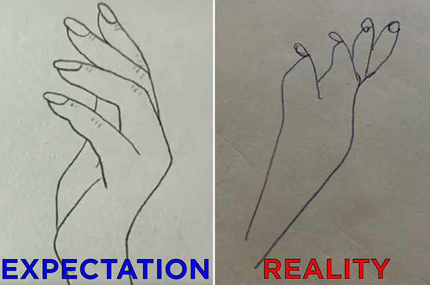 People Tried This Viral Hand-Drawing Hack, And The Results Are Shameful