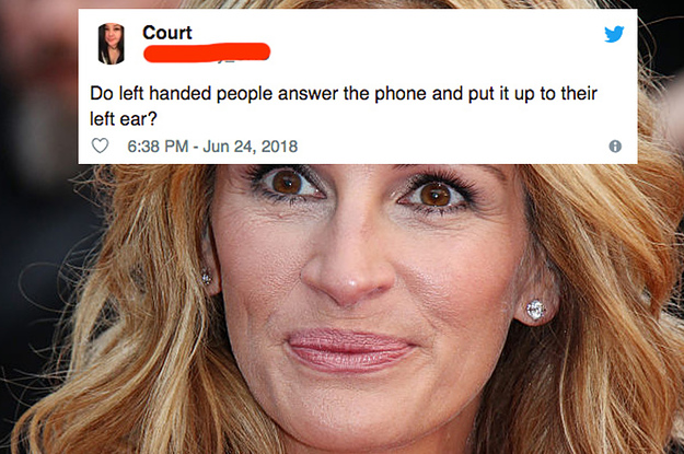 24 Questions Left-Handed People Need To Answer IMMEDIATELY