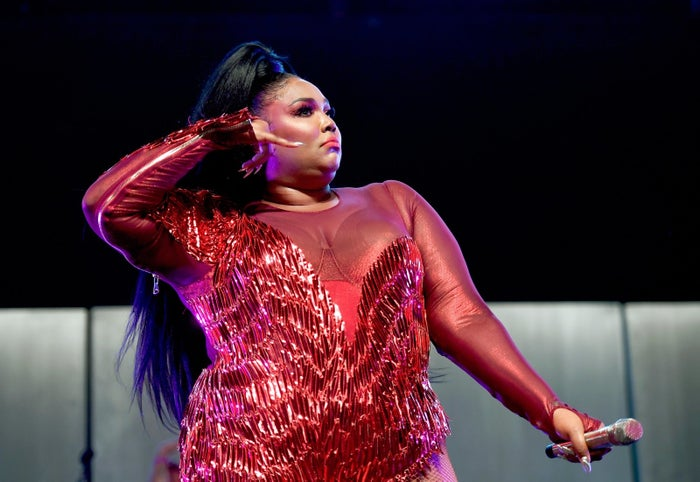 Lizzo performs at the 2019 Coachella Valley Music and Arts Festival on April 21 in Indio, California.