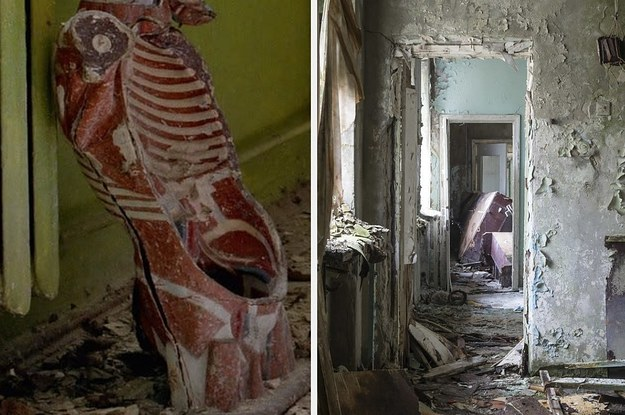 These Haunting Pictures Show How Chernobyl Has ...