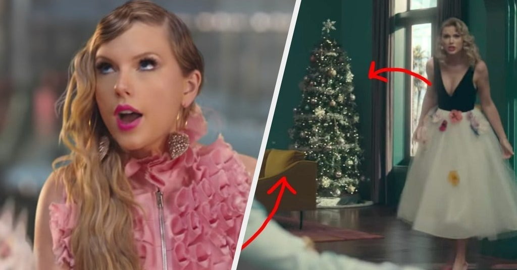Taylor Swift Christmas.All The Easter Eggs You May Have Missed In Taylor Swift S