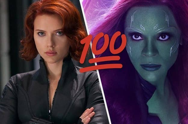 Who Is Your Female Marvel Soulmate?
