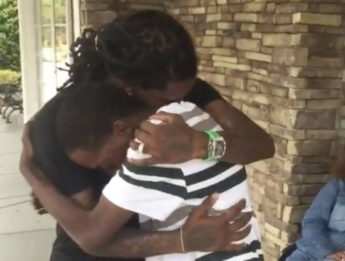 Migos Rapper Offset Reunited With His Father After 23 Years
