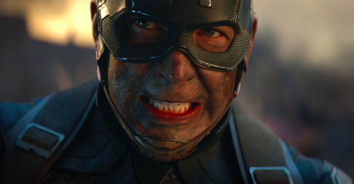 Chris Evans in Avengers: Endgame.