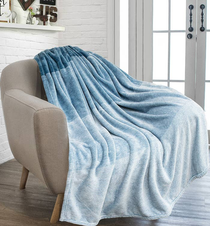 "Promising review: ""I love the beautiful colors and softness of this throw."" —BettyPrice: $19.99+ (available in two sizes and seven colors)."