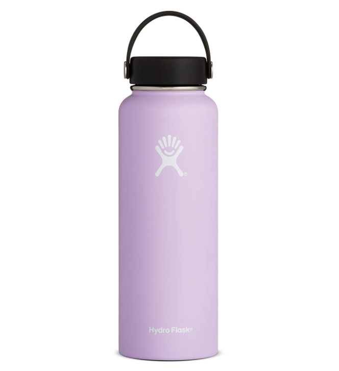 """I took my Hydro Flask on a hiking trip and it was sheer perfection. It kept my water cold for hours on end, never leaked in my backpack, and took numerous falls without denting. And I never had to use a plastic water bottle the entire trip!Promising review: """"I absolutely LOVE my Hydro Flask! I use it every day and carry it with me anywhere I go. It's been great at keeping my water cold. I left ice in this thing overnight and woke up to ice cold water with still plenty of ice left in it. I've also purposely left it in my car on a 90-degree day in California and I came back to find that the water was still cold. I was amazed!"""" —IsaiasGet it from Amazon for $29.95+ (available in four sizes and 22 colors)."""