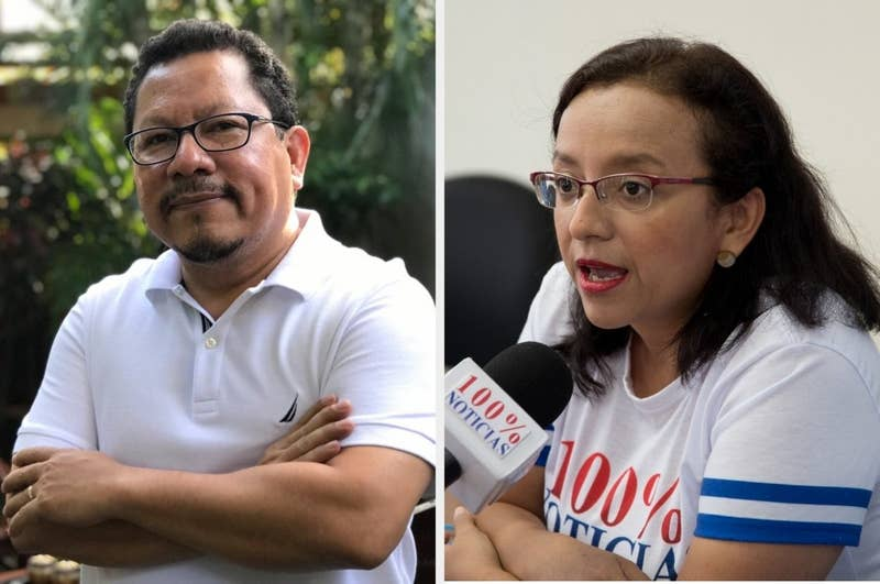 "In December, Nicaraguan police raided TV station 100% Noticias and arrested station director Miguel Mora and news director Lucía Pineda. Both journalists are being held on charges of ""inciting hate and violence"" and have been denied consistent access to legal services."